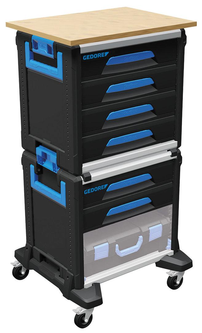 gedore 1110 wmw 2 carro porta herramientas workmo an2 gedore. Black Bedroom Furniture Sets. Home Design Ideas