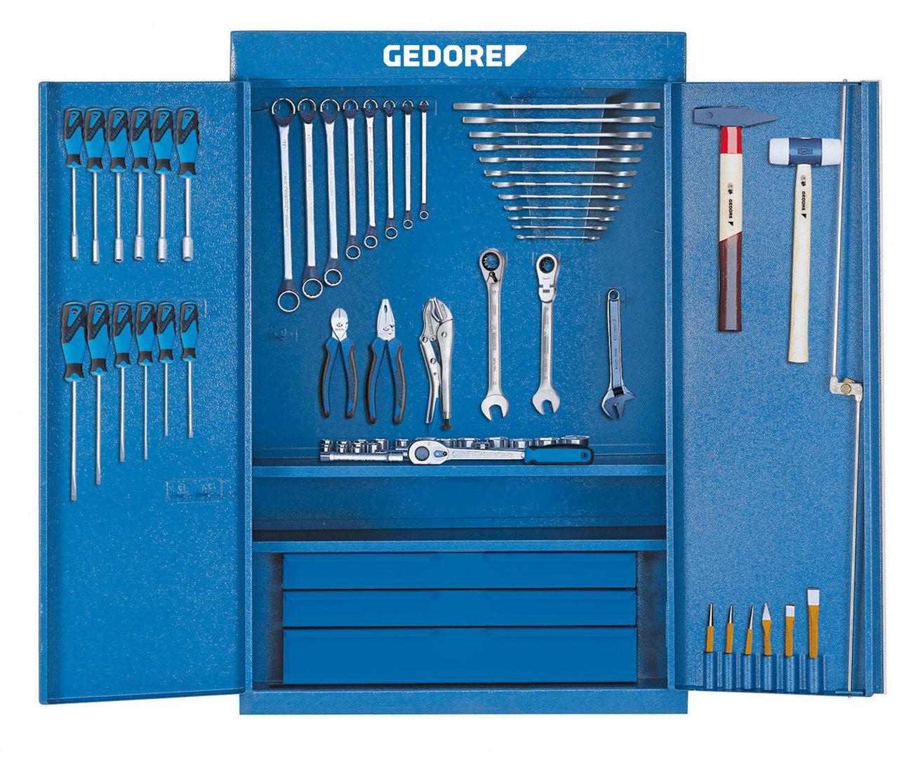 Armario De Aço Pantin ~ Gedore 1400 G Armario para herramientas con surtido S